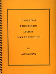 Giant Steps Progressions Studies by Joe Messina