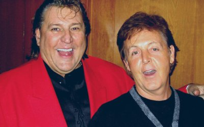Bob Babbitt and Paul McCartney