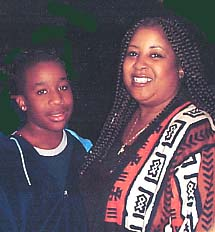Carla L. Benson and son Adam